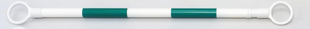 スライドバー 2m 緑白