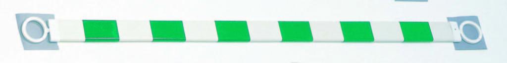 ガードバーワイド 緑白