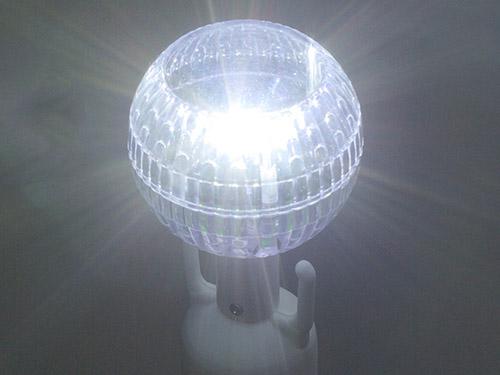LED ソーラーライト付きチェーンスタンド 3本組 チェーン