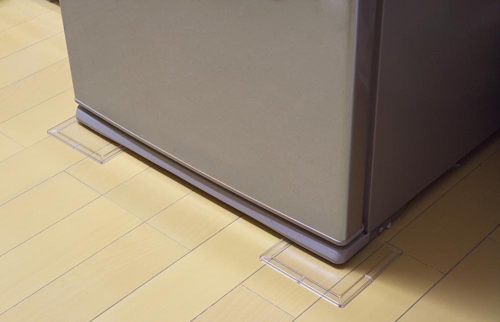 冷蔵庫用床へこみ防止シート